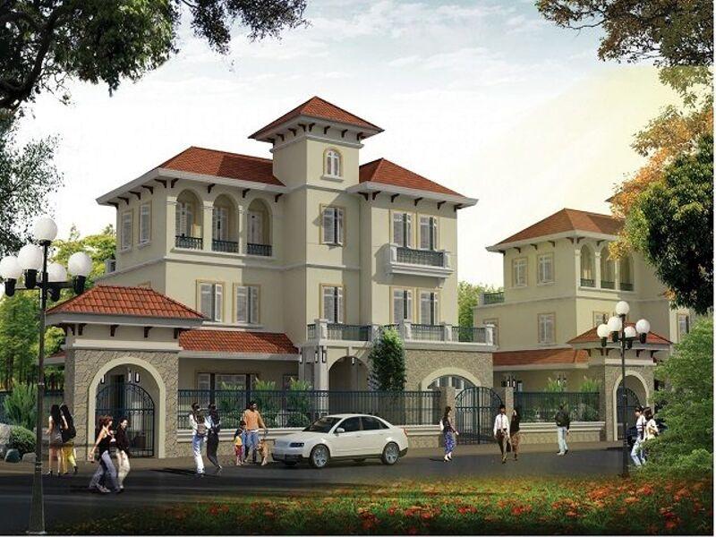 Biệt thự đơn lập hiện đại dự án Nam An Khánh Sudico