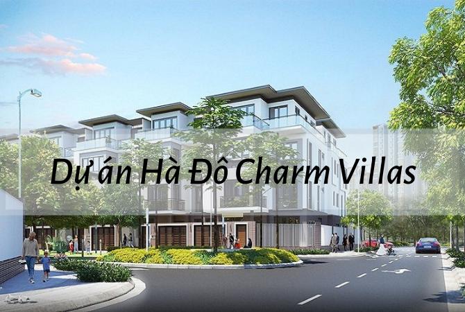 Dự án Hà Đô Charm Villas – Nam An Khánh Sudico