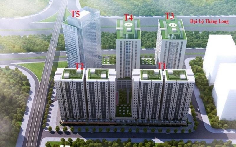 Dự án chung cư Thăng Long Victory