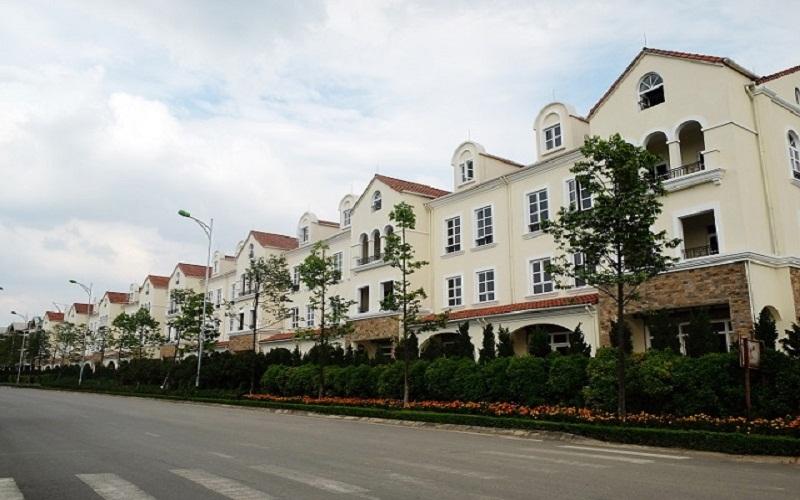 Khu nhà liền kề dự án Nam An Khánh Sudico