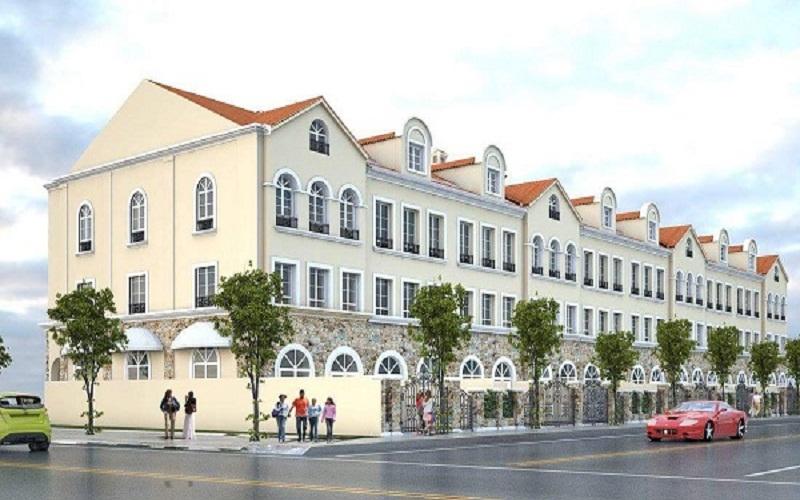 Thiết kế nhà shophouse Nam An Khánh Sudico
