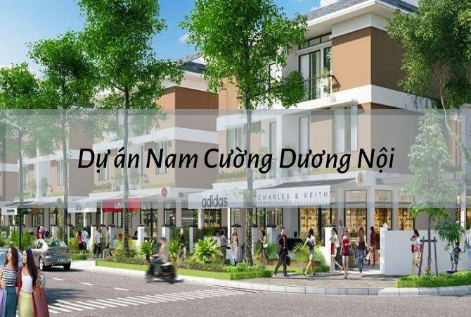 Dự án Nam Cường Dương Nội
