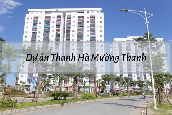 Dự án Thanh Hà Mường Thanh