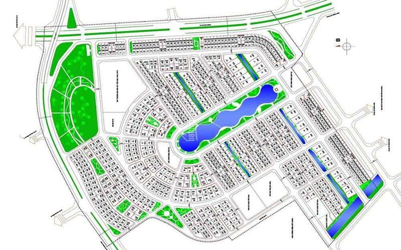 Thiết kế mặt bằng dự án Vườn Cam Vinapol
