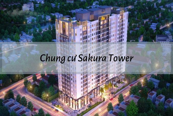 Tổng thể dự án Chung cư Sakura Tower – Nam An Khánh Sudico