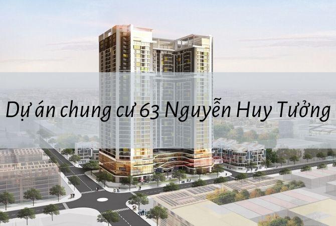 Tổng thể dự án chung cư 63 Nguyễn Huy Tưởng – Nam An Khánh Sudico