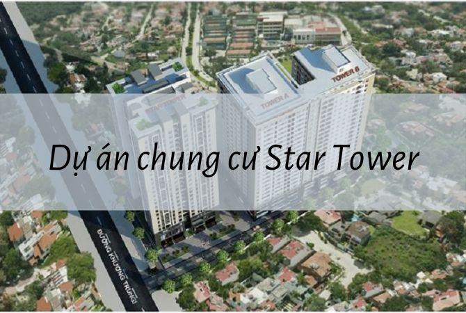 Tổng thể dự án chung cư Star Tower – Nam An Khánh Sudico