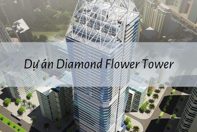 Tổng thể dự án Diamond Flower Tower – Nam An Khánh Sudico