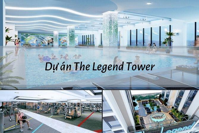 Tổng thể dự án The Legend Tower – Nam An Khánh Sudico